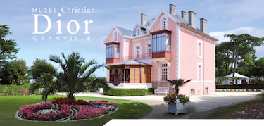 Christian Dior's famous pink home.