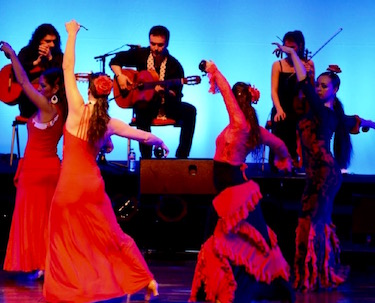 Flamenco dancing & music in Provence.