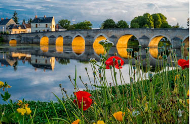 Loire River https://www.healeyfox.com/blog/living-rural-idyll-france/