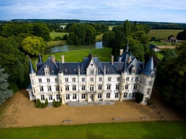 A chateau in the Loire