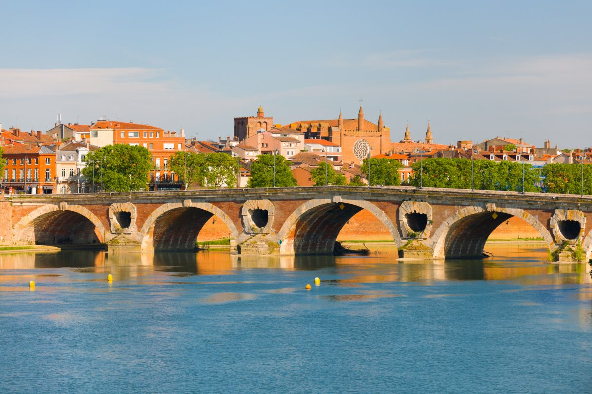 Toulouse on a summer day