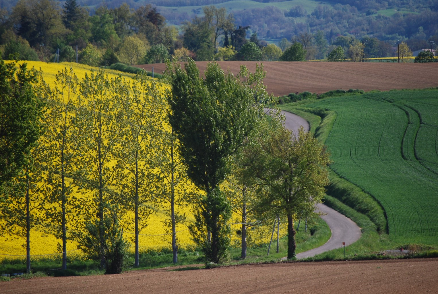 Rolling countryside, Property Gers