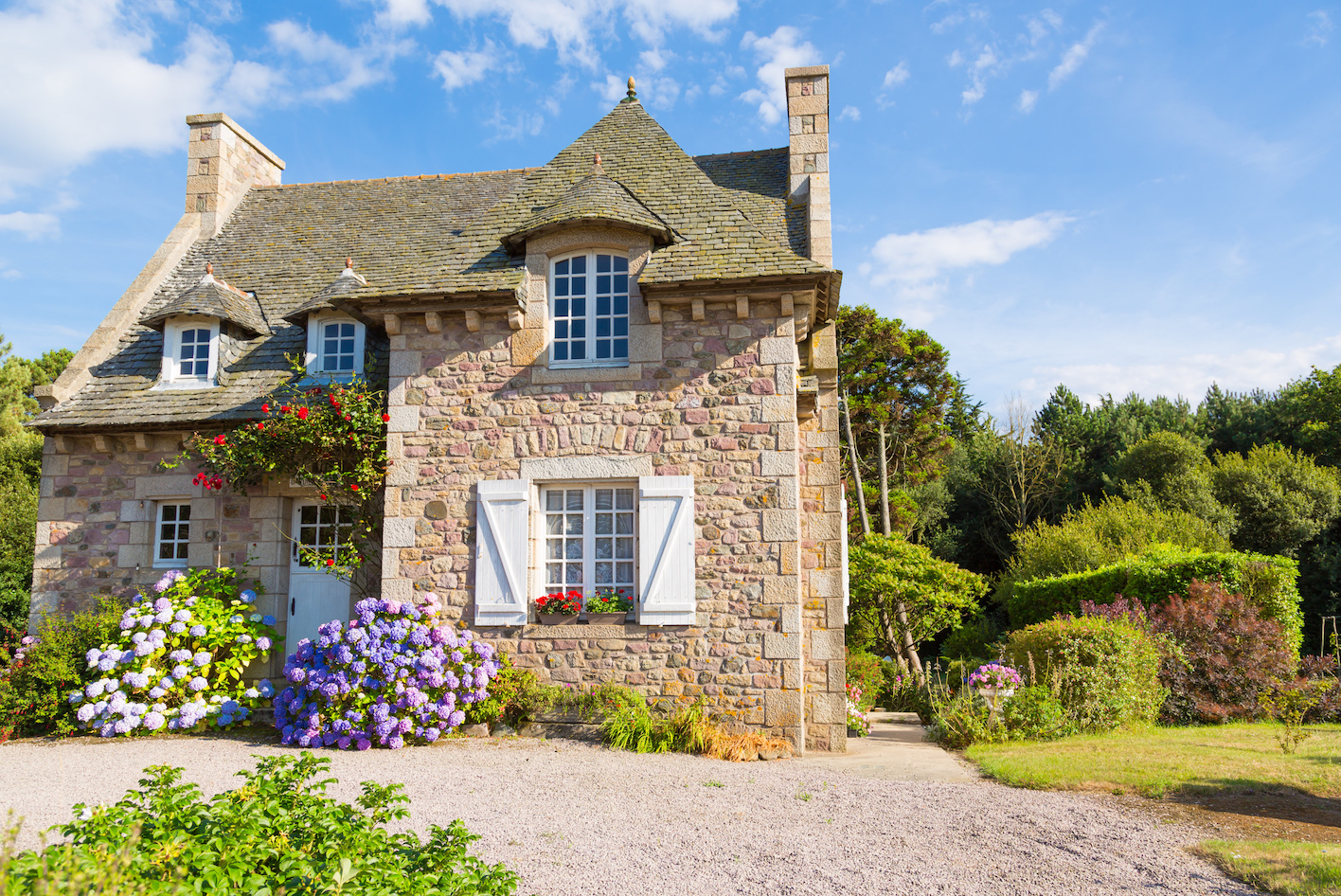 Beautiful French home for property buyers