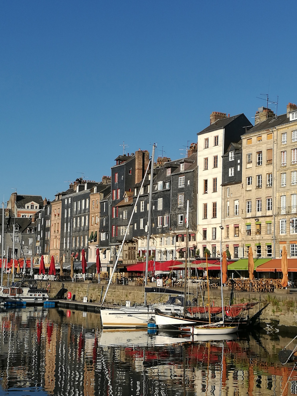 View of Harbour in Normandy