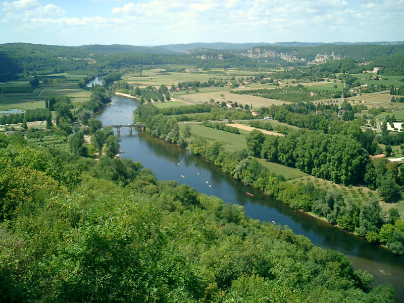 Dordogne River View