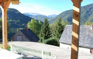 View from House in France
